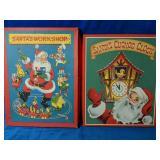 Two Vintage Christmas Books