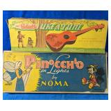 Vintage The Reliable Uke-A-Tune Plastic Ukelele
