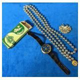 Vintage Costume Jewelry includes a Vintage Wrist