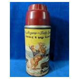 Vintage Roy Rogers and Dale Evans Thermos