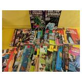 Large selection of vintage comics, including