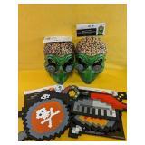NEW Hypno Alien Masks x 2 & Knight & Pirate Eva