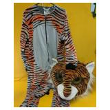 Adult Tiger Halloween Costume size Medium with