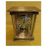 """Benchmark Quartz Mantel Clock 6.5"""" x 4.5"""" x"""