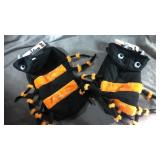Dog costumes! One large and one medium spider