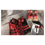 DC Harley Quinn corset with inflatable mallet and