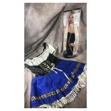 Ladies large costume with wig