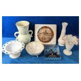 Great assortment of Decorative pieces include a
