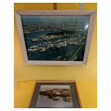 """Montreal Expo framed picture 20"""" x 26 & framed"""