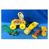 Vintage Toy Lot includes Fisher Price Prancy