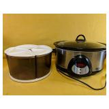 """""""Smart-Pot"""" Crock Pot and Rubbermaid 5-container"""