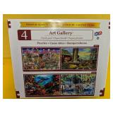 Art Gallery Family Pack Jigsaw Puzzles x 4