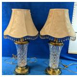 Two Stunning Lamps measure 2