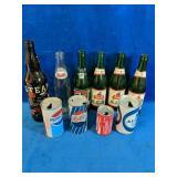 Vintage Bottle & Can Lot