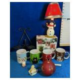 Beautiful Christmas Lot includes a Set of Four