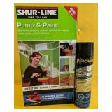 """Like New Shur-Line """"Pump & Paint"""" and Fast-Acting"""