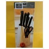 Gibson Home 7pc Cutlery Set with Block