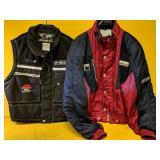 "Two ""Phenix Sports"" apparel, jacket size Large &"