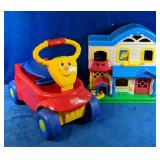 Fisher Price Lot includes a Little People