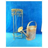 """Vintage Lot includes a Metal Stand measures 8"""""""