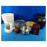 Miscellaneous Lot includes a working Coffee