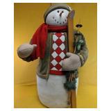 "Snowman decor 36""H"