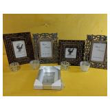 """Like New photo frames 4"""" x 4"""" and 4"""" x 6"""""""
