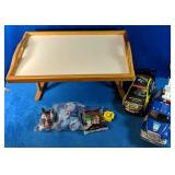 """This Lot includes a Table Top Tray measures 21.5"""""""
