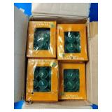 Box Full of Votive Pine Scented Candles