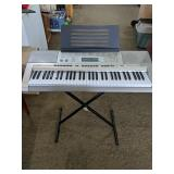 Casio Keyboard with stand  No cord, not tested