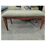 """Beautiful upholstered Hall bench 38"""" x 18"""" x 16""""H"""