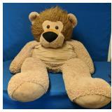 """Huge Teddy Bear measures 54"""" height"""