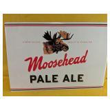 "Moosehead Pale Ale tin sign 20"" x 14"""