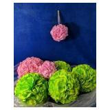 """Beautiful flower balls 5""""-10"""""""