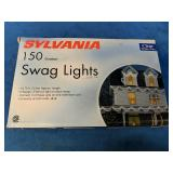 As New Sylvania 150 Outdoor Swag Lights