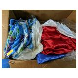 Large pieces of fabric