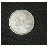 1962 Canada Silver Quarter #2