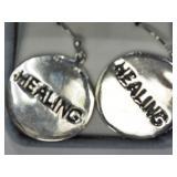 5L- sterling silver earrings $200