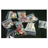 9 Red Rose Tea WADE mini teapots - no duplicates