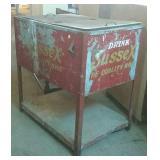 "Vintage Sussex pop cooler  35"" x 24"" x 36"