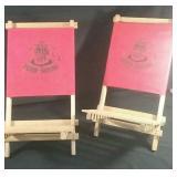 2 Beach chairs
