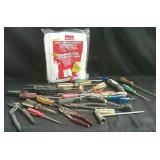 Variety of screwdrivers, players,  wrenches, new