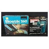 Working Bostic 260 blue gun and Makita 3/8