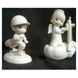 Two Precious Moments figurines