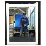 "39x29"" wall mirror"