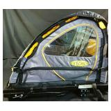 Instep two seat bike trailer 32Lx24Wx26H