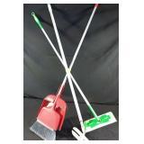 Broom, Swiffer and extra