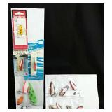 Assorted Metal Fishing lures - Some New in Package
