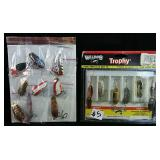 15 Metal Fishing lures - Some New in Package