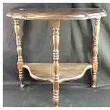 Antique D Table